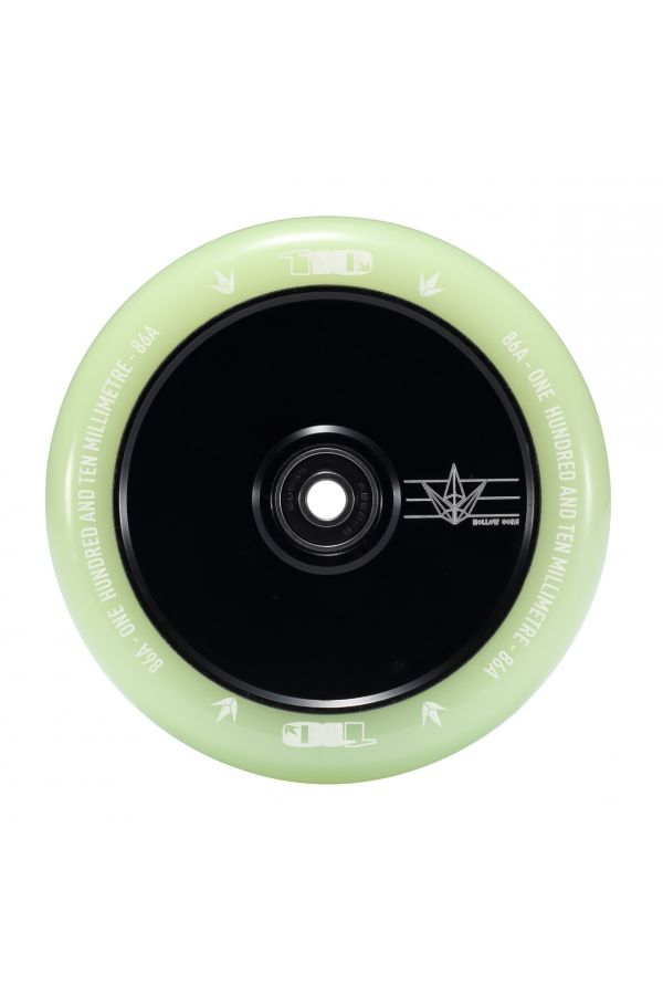 Blunt Envy Hollow Core Scooter Wheel Pair - 110mm x 24mm Glow in the Dark