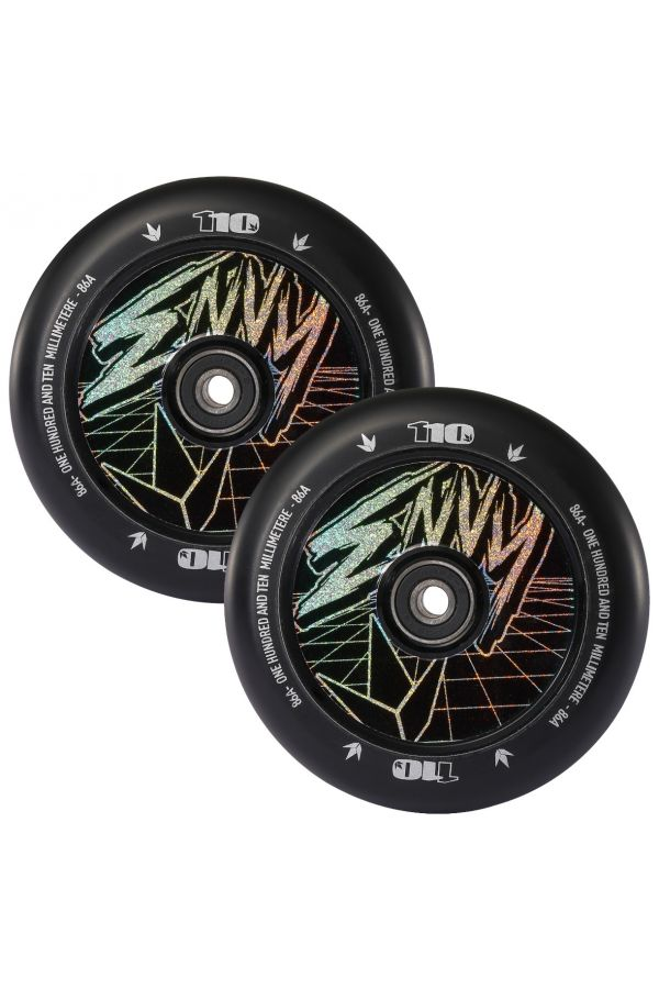 Blunt Envy Hologram Hollow Core Scooter Wheel Pair - 110mm x 24mm