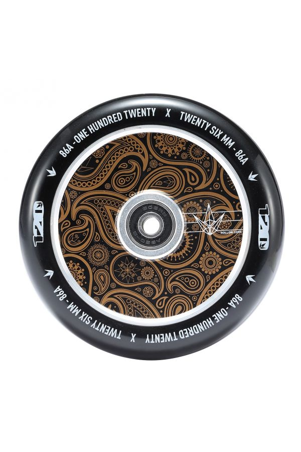 Blunt Envy Hollow Core Scooter Wheel Pair - 110mm x 24mm Gold Bandana