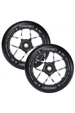 Fasen Scooters Jet Wheel Pair - 110mm - Chrome