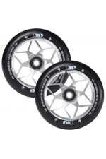 Blunt Envy Diamond Scooter Wheel Pair - 110mm x 24mm - Silver Black