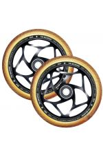 Blunt Envy 120mm/30mm Tri Bearing Wheel Pair - Black and Gold