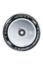 Blunt Envy Hollow Core Scooter Wheel Pair - 110mm x 24mm Black Silver Polish